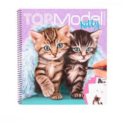 TOPMODEL CREATE KITTY KLEURBOEK