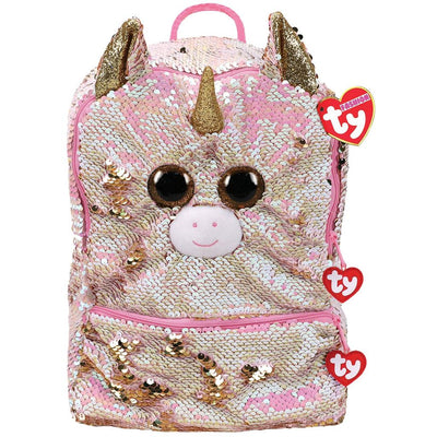 TY FASHION RUGZAK FANTASIA UNICORN SQUARE 22CM