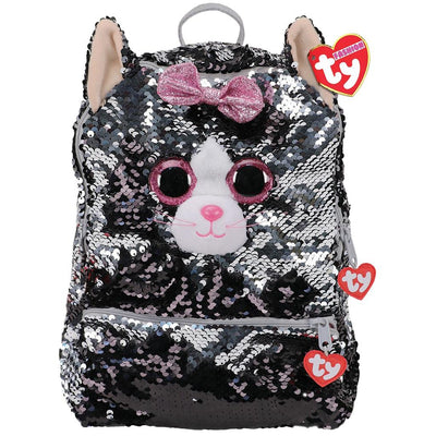 TY FASHION RUGZAK KIKI CAT SQUARE 22CM