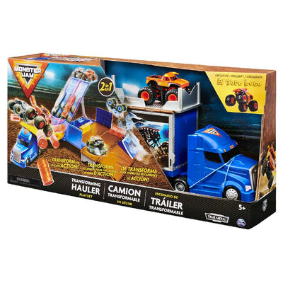 MONSTER JAM HAULER PLAYSET