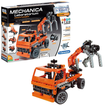 CLEMENTONI MECHANICA VRACHTAUTO 1 IN 1 TECHNOLOGIC