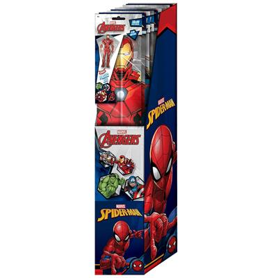 MARVEL PLASTIC KITES 4 ASSORTED