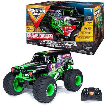 MONSTERJAM 1:10 GRAVEDIGGER RC