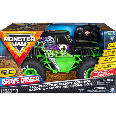 MONSTERJAM 1:15 GRAVEDIGGER RC