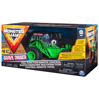 MONSTERJAM 1:24 GRAVEDIGGER RC