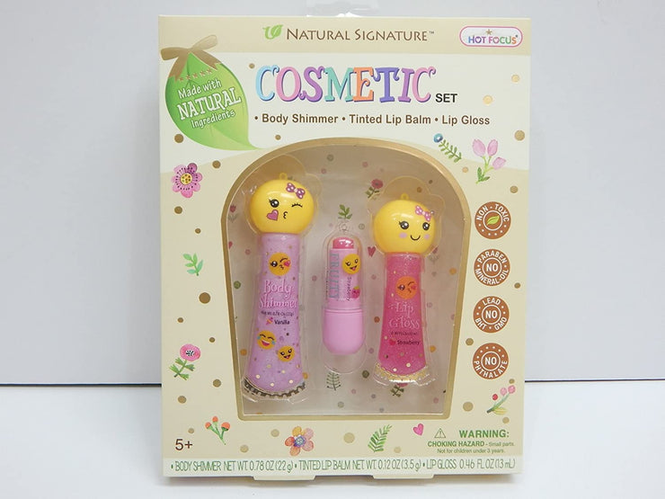 Natural Signature Cosmetic Set Emoji