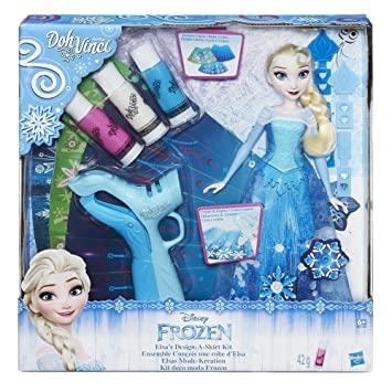 Play-Doh DohVinci Frozen Elsa's Design-A-Skirt Kit