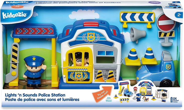 Kidoozie Lights 'N Sounds Police Station