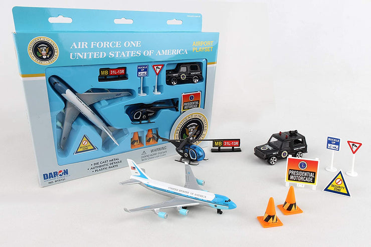 9PC PLAYSET-AIR FORCE ONE
