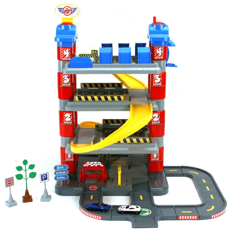 Dolu Toy Garage 4 Levels