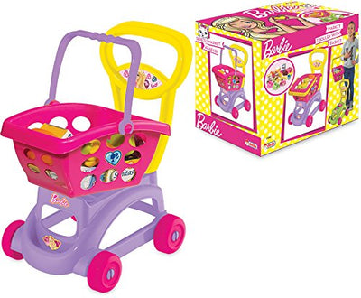 BARBIE MARKET TROLLEY W/BASKET