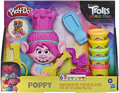 PLAY DOH TROLLS POPPY