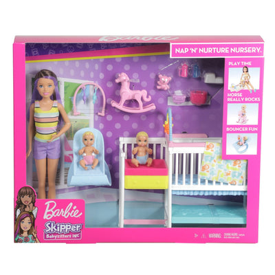 BARBIE SKIPPER NURSERY PLAY SET
