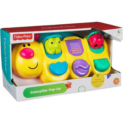 FISHER PRICE GIANT CATERPILLAR POP-UP