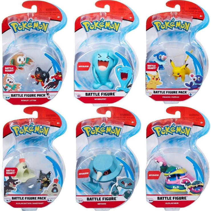 Pokémon Battle Figure Pack