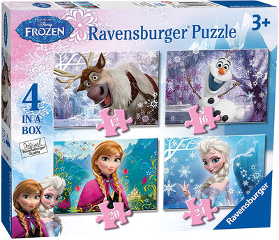Ravensburger Puzzle Frozen 4-In-1