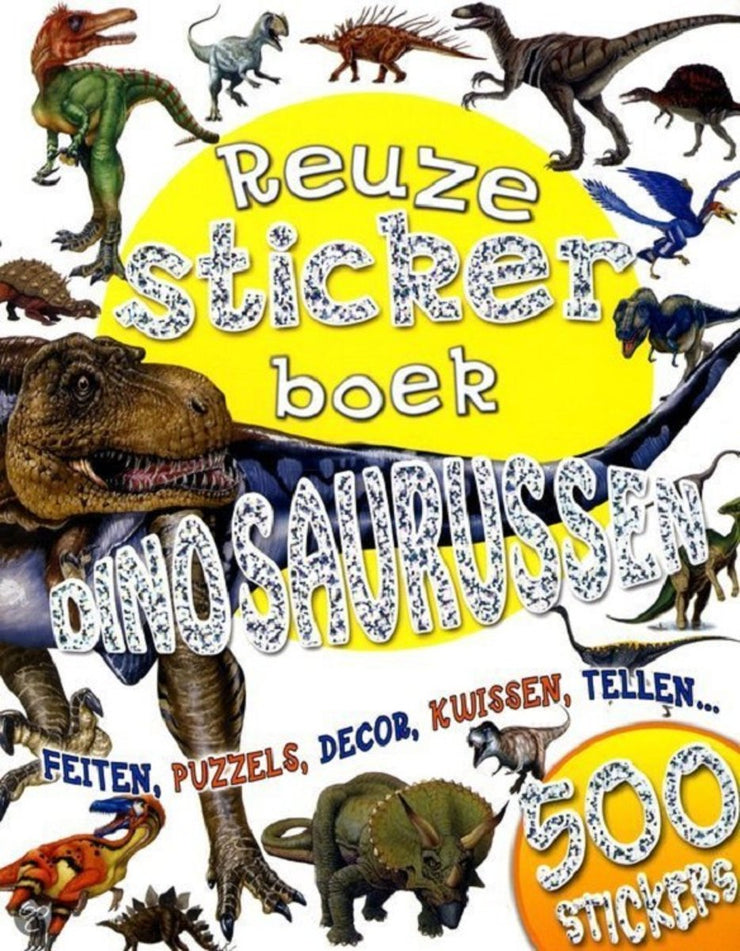 Stickerboek Dinosaurussen