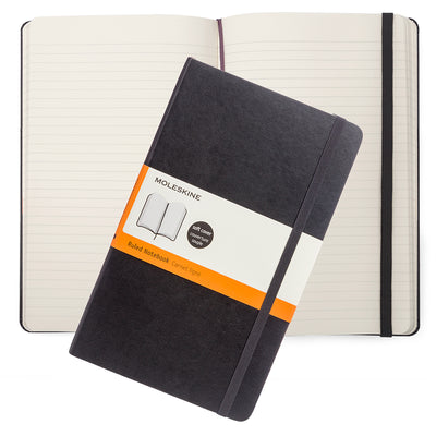 MOLESKINE NOTEBOOK SOFT COVER BLACK A-6 LINED