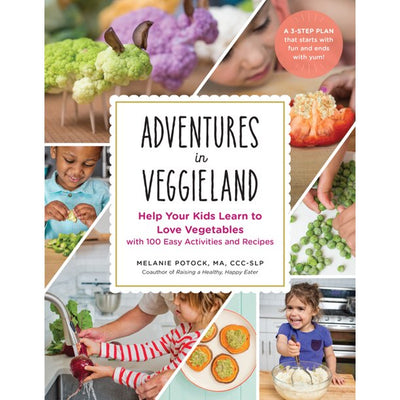 KIDS COOKBOOK: VEGGIELAND - MELANIE POTOCK