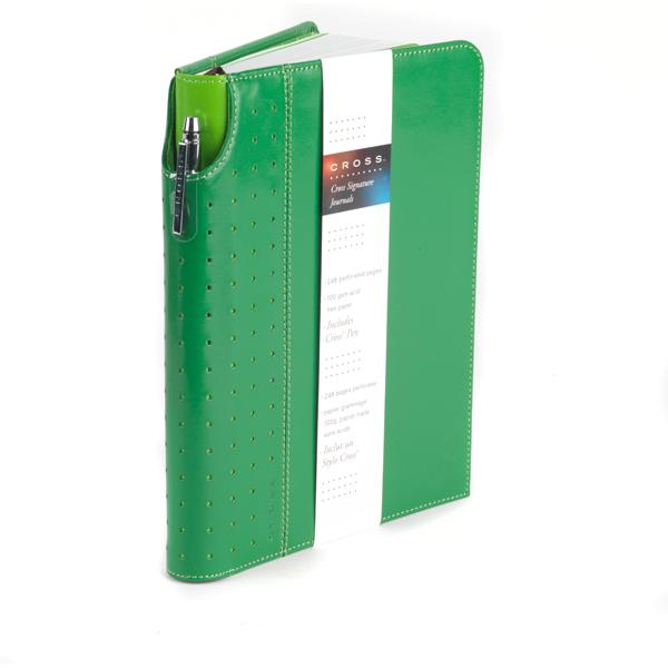 Cross Signature A5 Green Journal