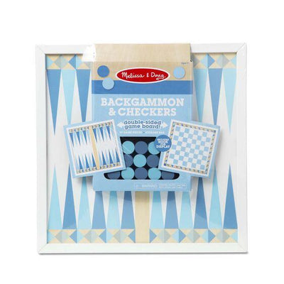 Backgammon & Checkers Blue
