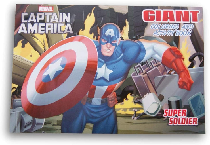 CAPTAIN AMERICA GIANT COL.BOOK