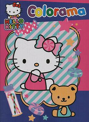 HELLO KITTY COLORAMA COLORING BOOK