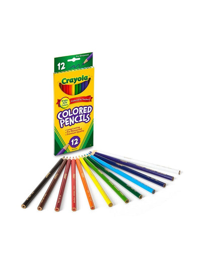 CRAYOLA COLORED PENCIL 12 UNITS