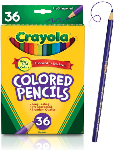 CRAYOLA COLORED PENCIL 36 UNITS