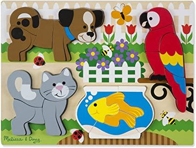 Chunky Jigsaw Puzzle Pets
