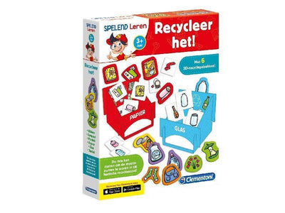 Clementoni Leerspel Recycle it