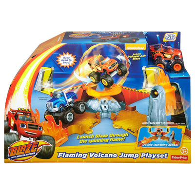 Blaze Flaming Volcano Jump Set