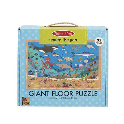 Giant Floor Puzzle Under the Sea
