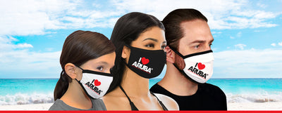 ILOVEARUBA FACE MASK