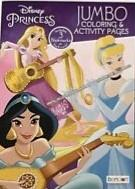 DISNEY PRINCESS JUMBO COLORING BOOK