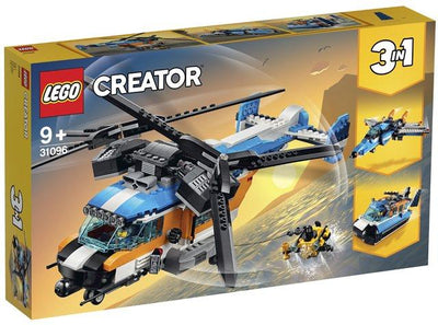 LEGO Creator 31096 Twin Rotor Helicopter