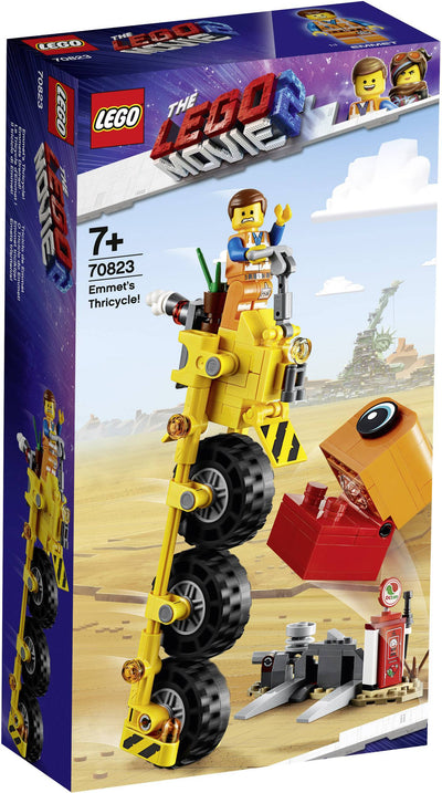 LEGO The Lego Movie 2 70823 Emmets Tricycle