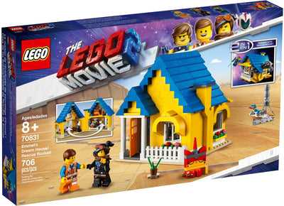 LEGO The Lego Movie 2 70831 Emmet's Dream House/Rescue Rocket