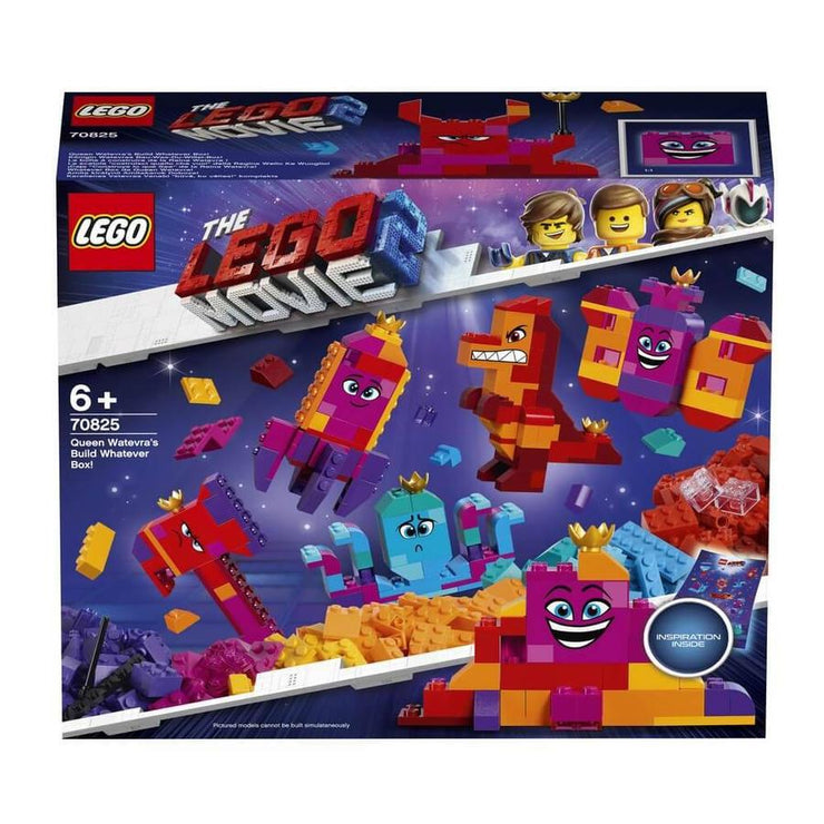 LEGO The Lego movie 2 70825 Queen Watevra's Build  Whatever Box