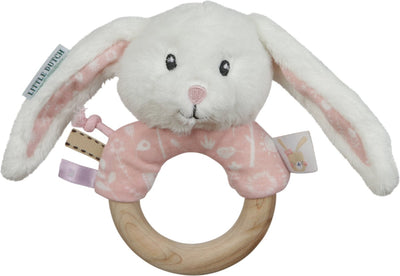Little Dutch Pink Ring Rattle