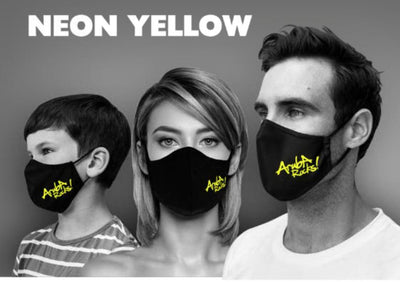 MASK ARUBA ROCKS NEON YELLOW
