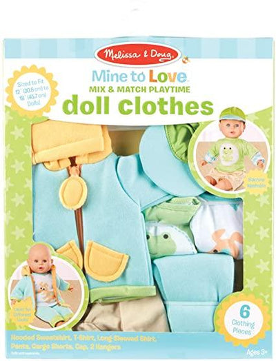 Mine to Love Playtime Doll Clothes