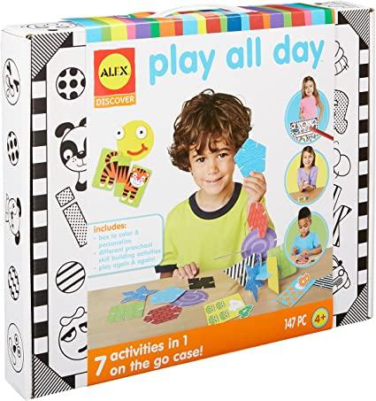PLAY ALL DAY 7 ACTIVITIES IN 1 ON THE GO