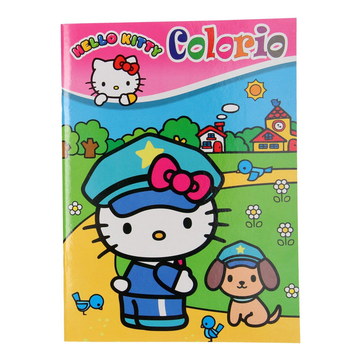 HELLO KITTY COLORIO KLEURBOEK