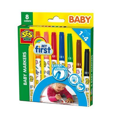 SES 00299 My First Baby Marker 8pcs.