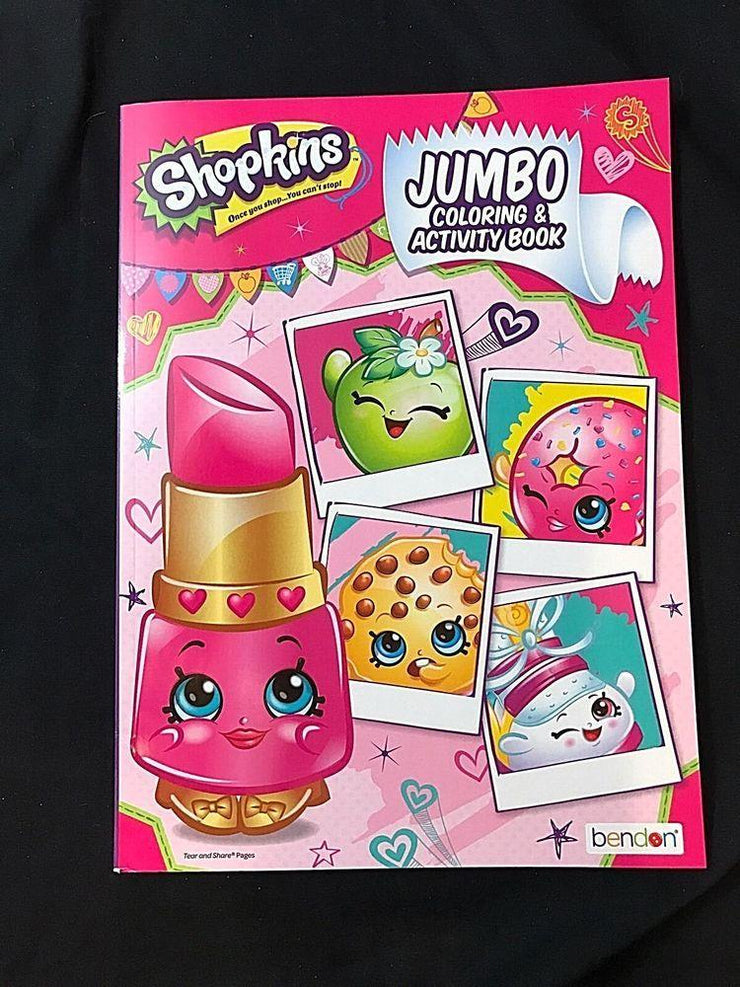 SHOPKINS 96 PG JUMBO COLOURING BOOK