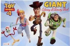 TOY STORY4  GIANT COLORING & ACTIVITY
