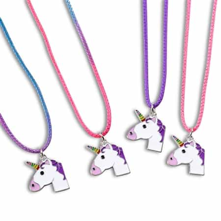 Top Trenz Unicorn Stretch Tie Dye Necklace