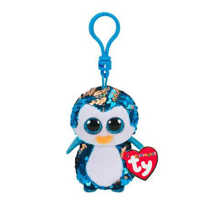 TY FLIPPABLES PAYTON BLUE PINGUIN