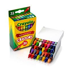 CRAYOLA CRAYONS 32 COLORS